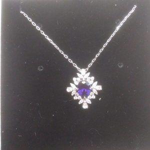 Swarovski New Cobalt Blue Crystal Necklace